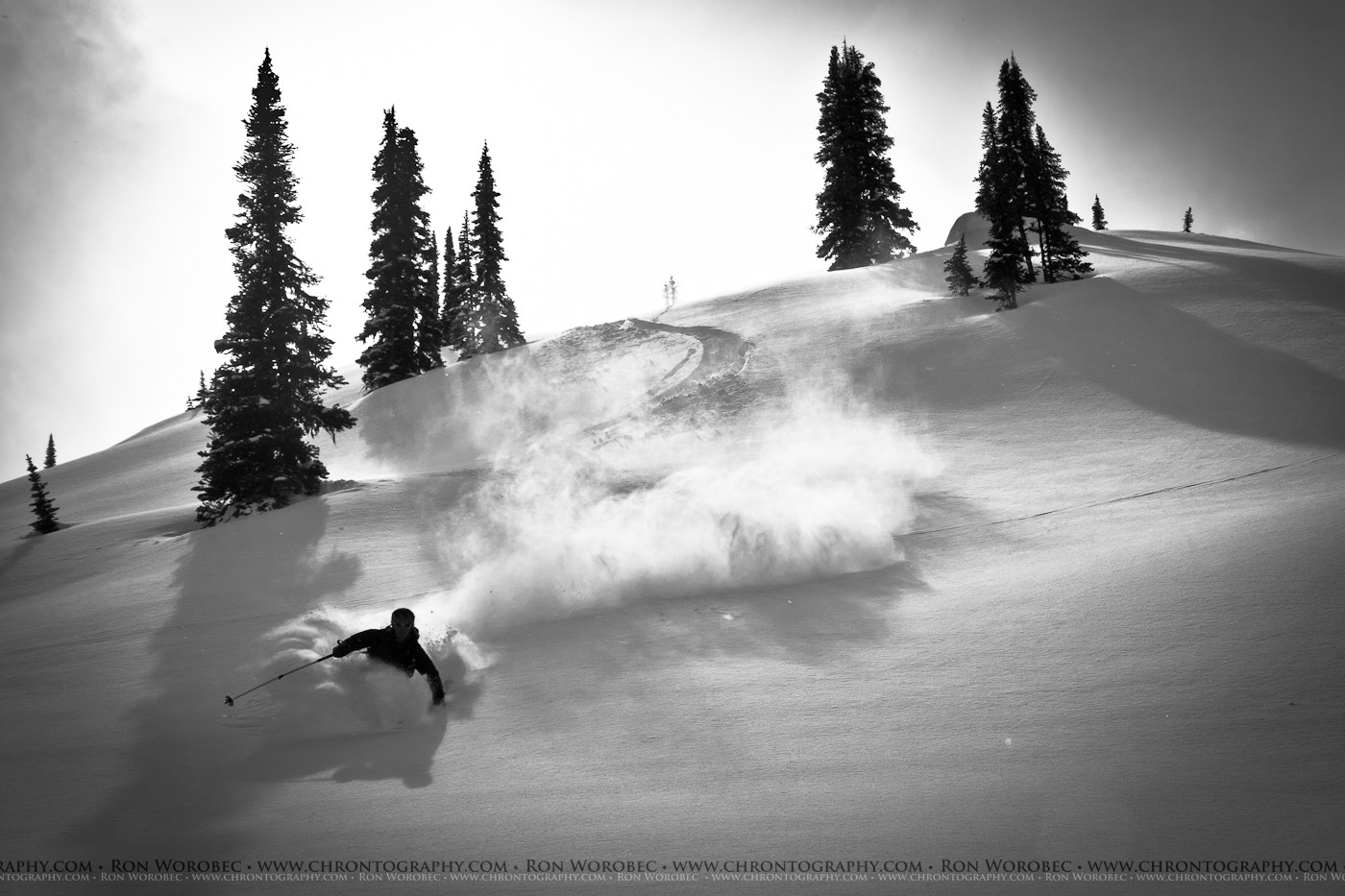 Photograph Powder Bliss! by Ron Worobec on 500px
