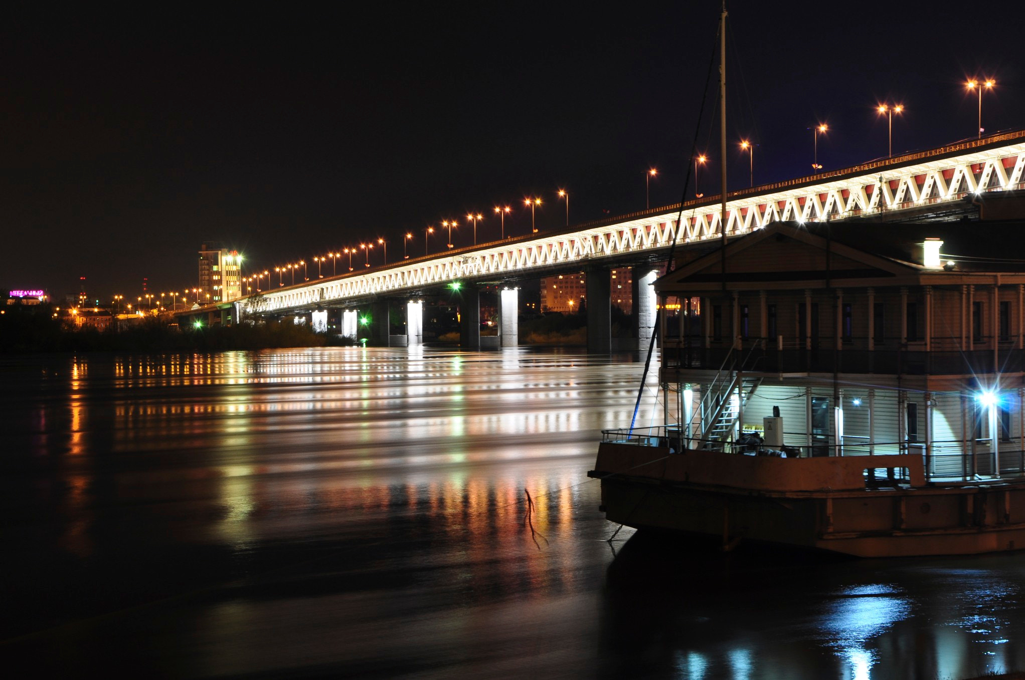 Photograph Night Bridge by MaxPro  on 500px