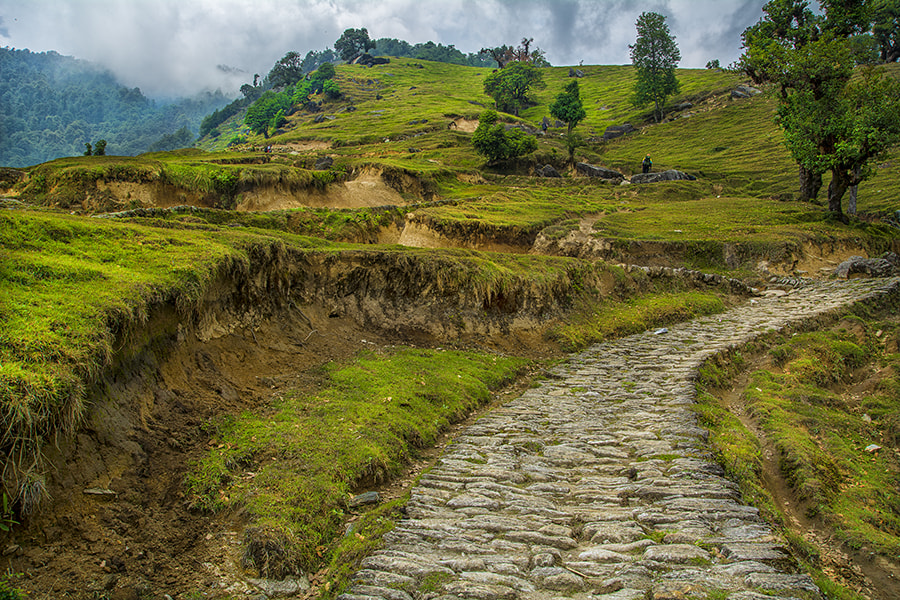 Photograph Road To Hill by Sourik Ghosh on 500px