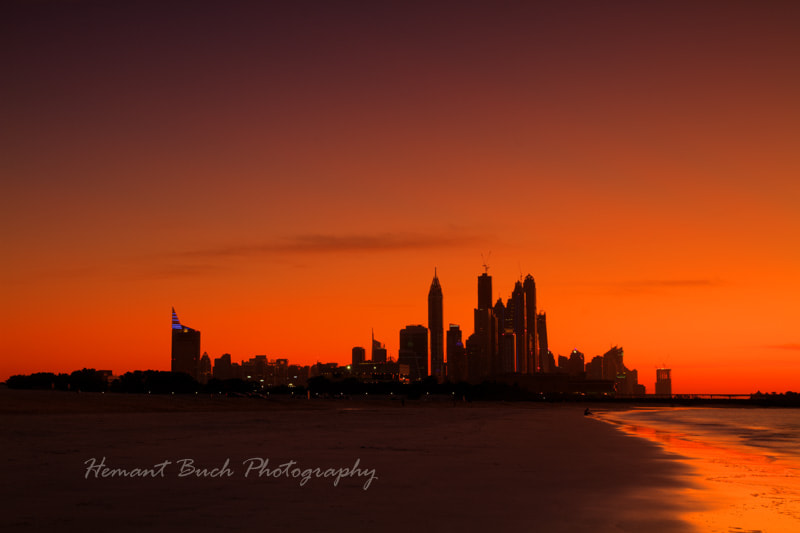 Photograph Blazing Sky by Hemant Buch on 500px