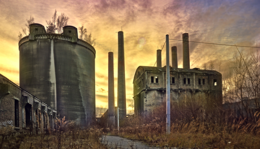 Photograph Cement Factory by Leszek Wasiolka on 500px