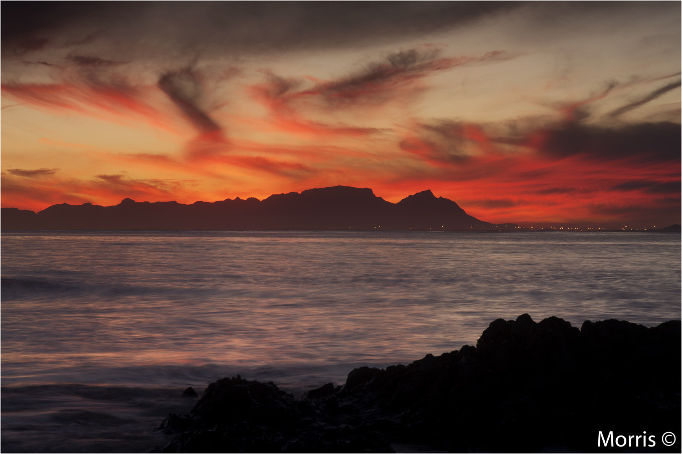 Photograph Cape Town, WInters Eve by Dave Morris on 500px