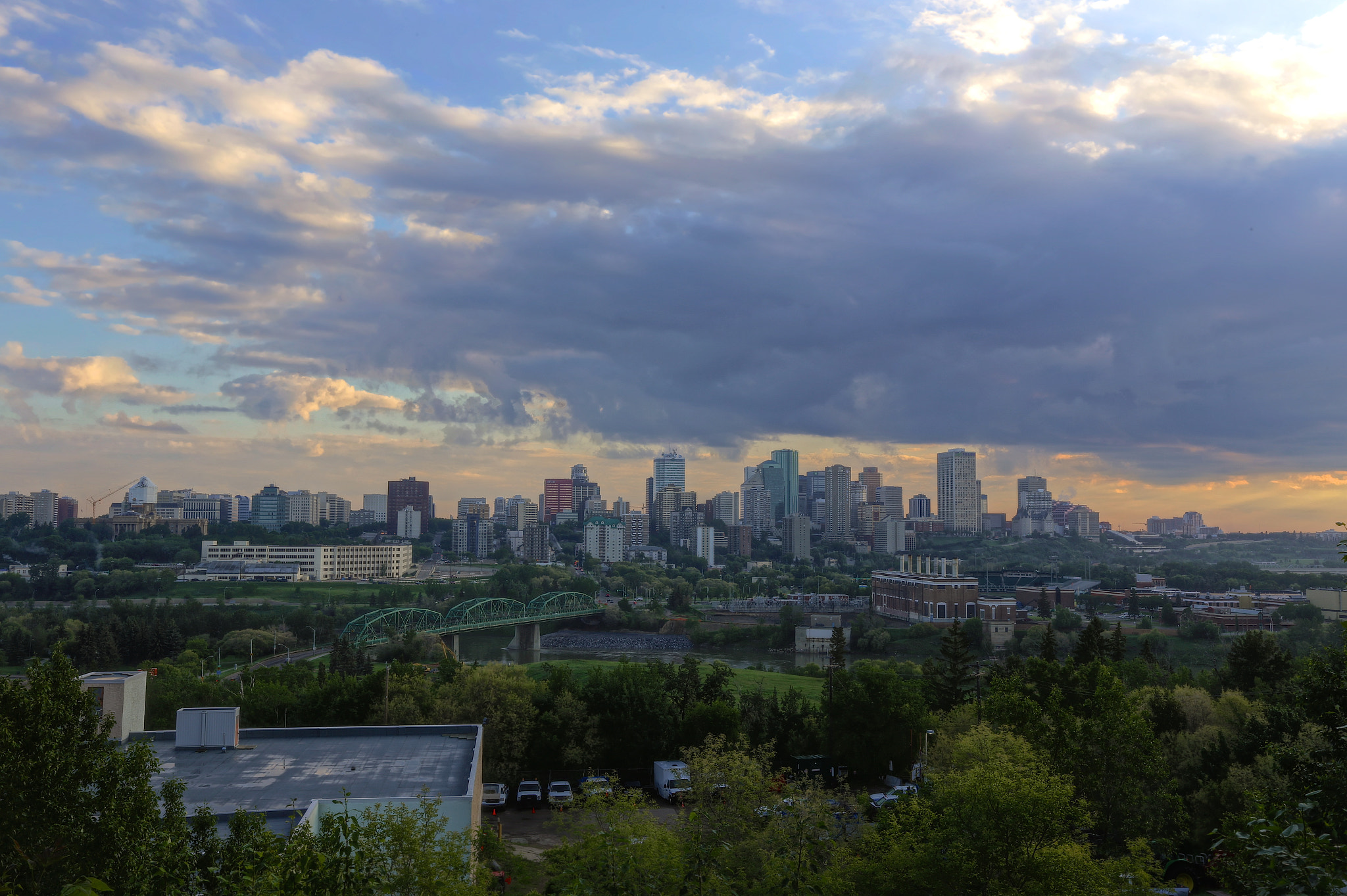 Photograph Edmonton Morning View by Shawn Platt on 500px