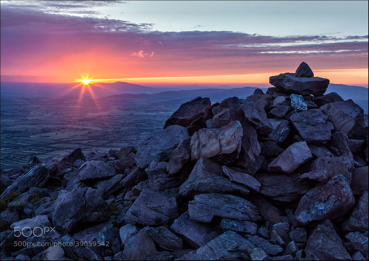 Photograph Slievenaman Sunrise by John  Finn on 500px