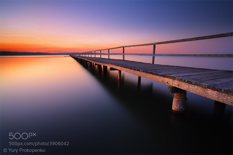 Photograph Sunset at Long Jetty by Yury Prokopenko on 500px