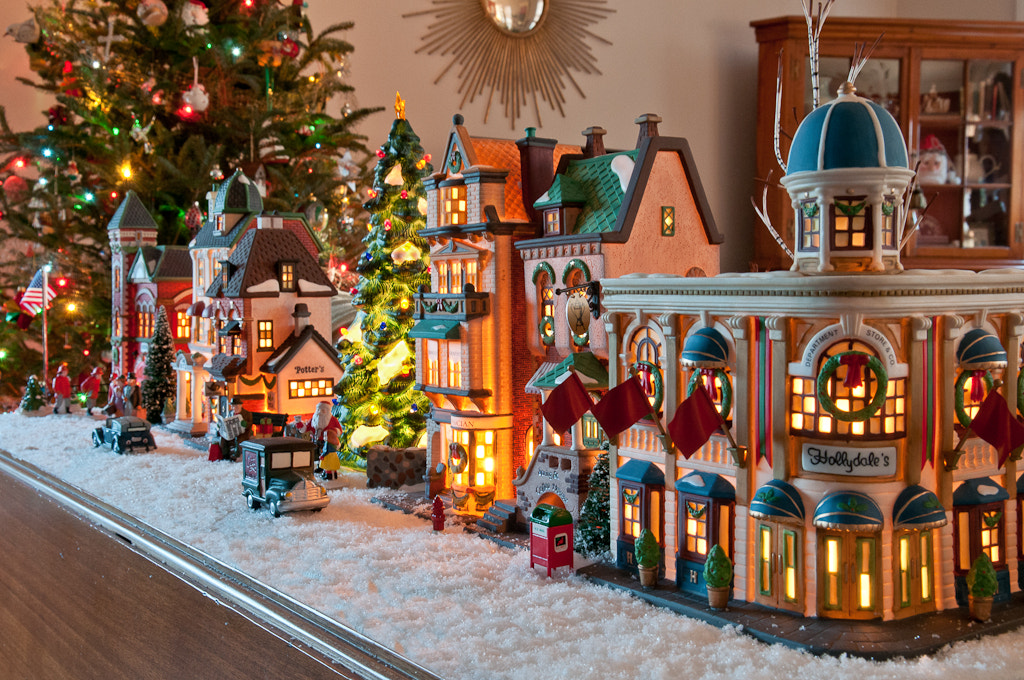 Photograph A Christmas Village by Drew Sumrell on 500px