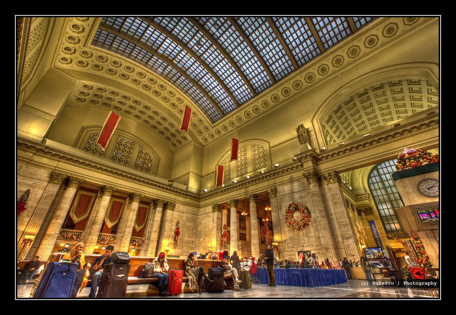 Photograph Chicago Union Station [HDR] by DukePro Studio on 500px