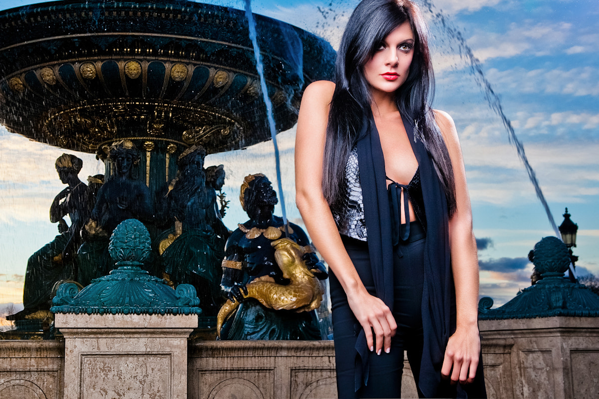 Photograph jessica at concorde 2 by frederick lefort on 500px