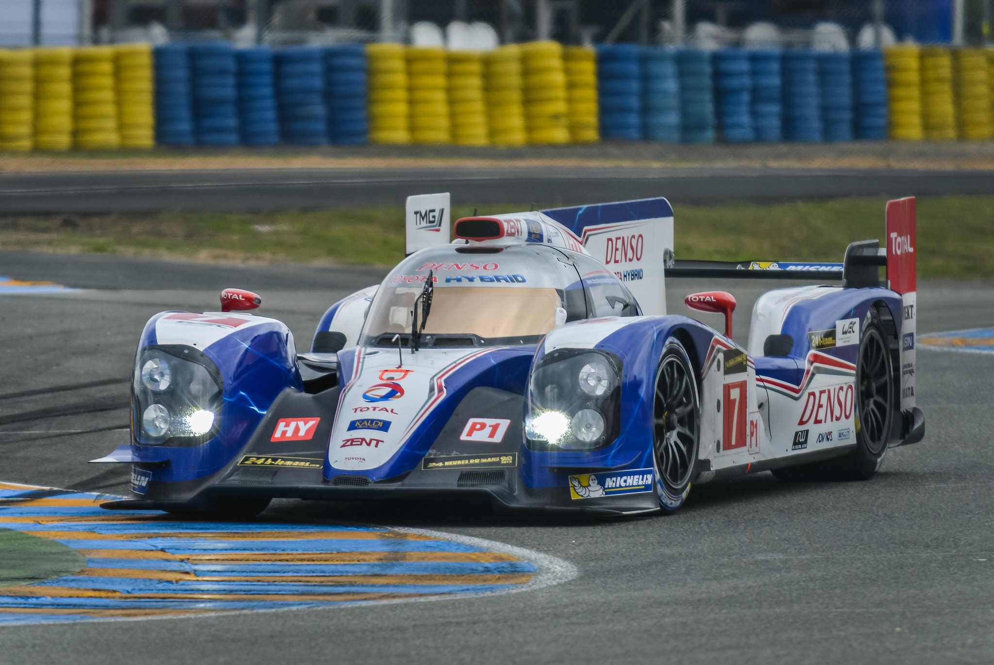 Photograph Toyota RACING - N°7 24 Hours Of Le Mans 2013 by Julien REBOULET on 500px