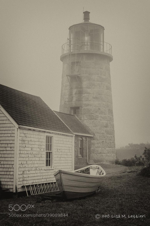 Photograph Monhegan Island Light by Lisa Lettieri on 500px
