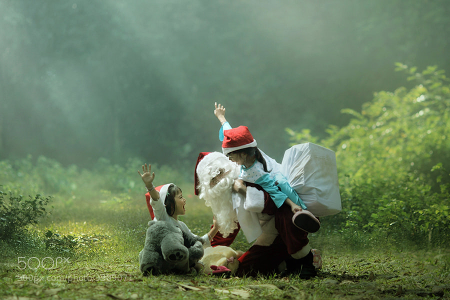 Photograph happy santa by asit  on 500px