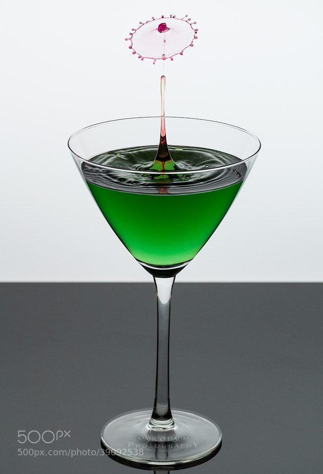 Photograph green cocktail III by Marco Baum on 500px