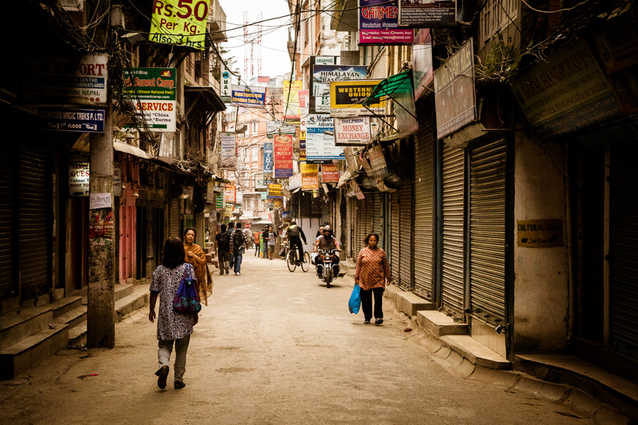 Photograph Streets of Kathmandu by Andrei Drăguşanu on 500px