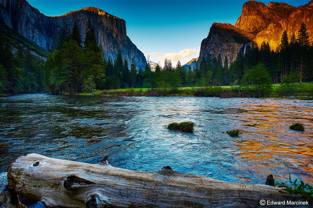 Photograph Valley view at Merced River by Edward Marcinek on 500px