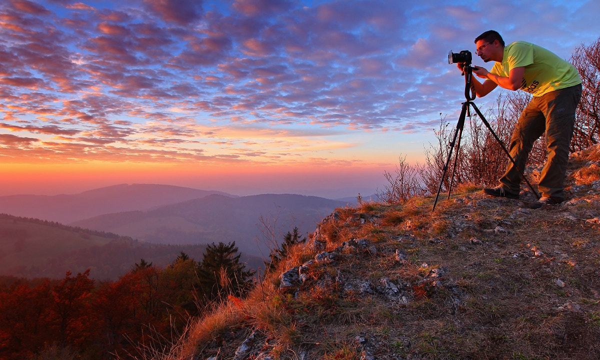 Photograph Photographer and Landscape by Matej Kovac on 500px