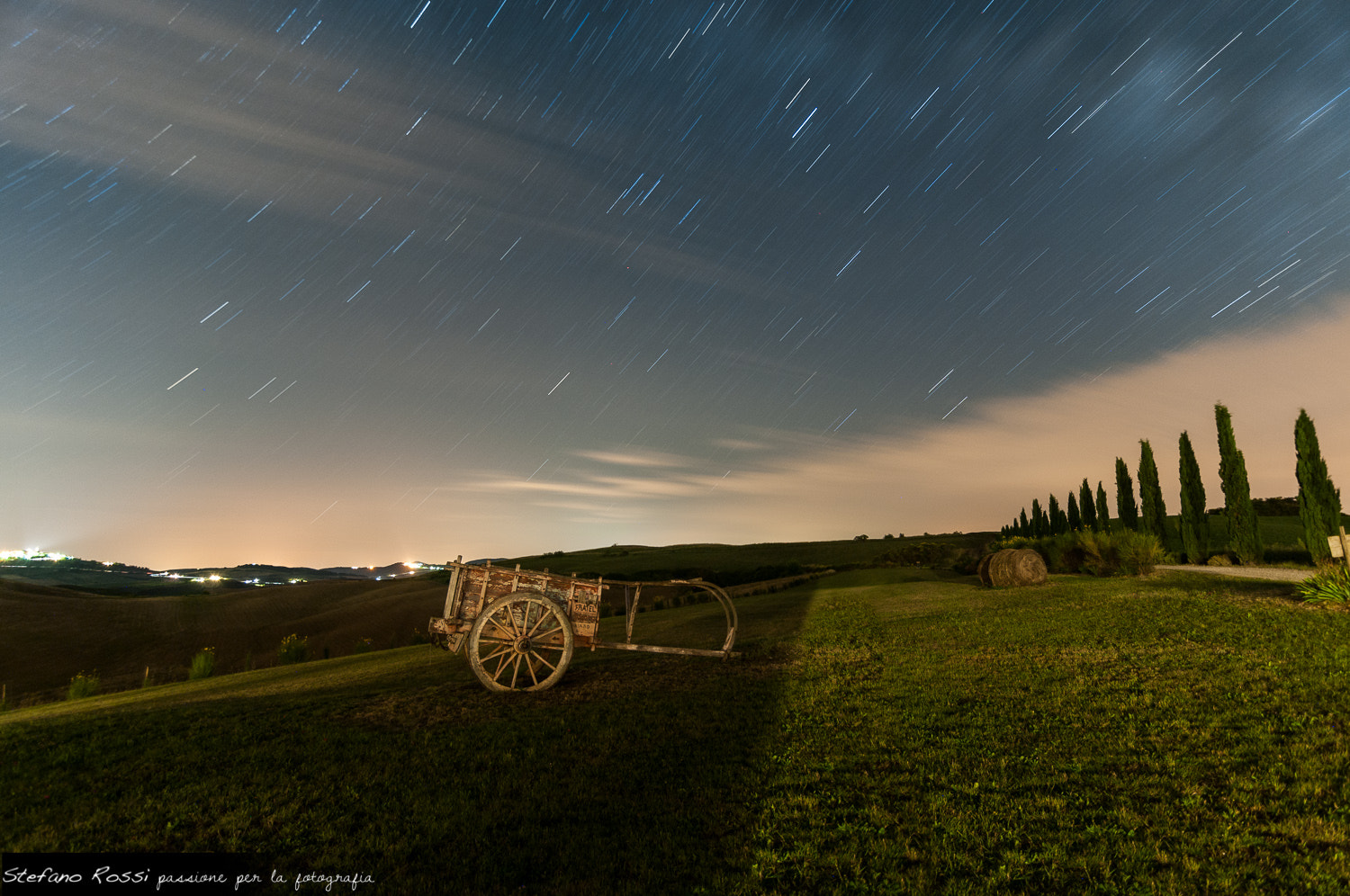 Photograph Startrail one shot by Stefano Rossi on 500px