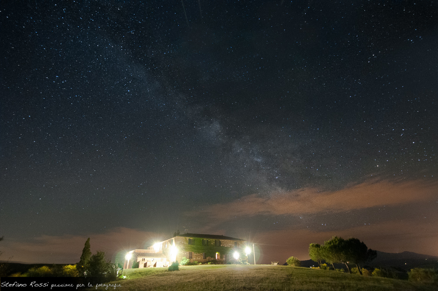 Photograph Tuscany Milky Way by Stefano Rossi on 500px
