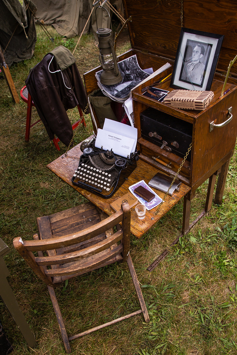 Photograph WWII Officer Field Desk by Scott Nelson on 500px