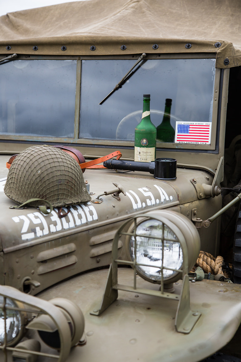 Photograph WWII US Army Jeep  by Scott Nelson on 500px