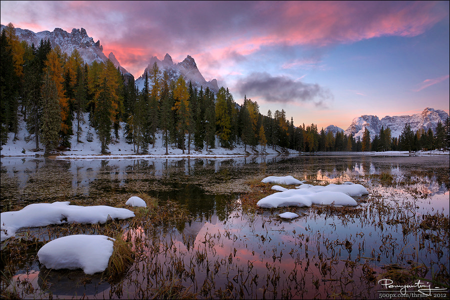 Photograph Lake Antorno by Andrew Thrasher on 500px