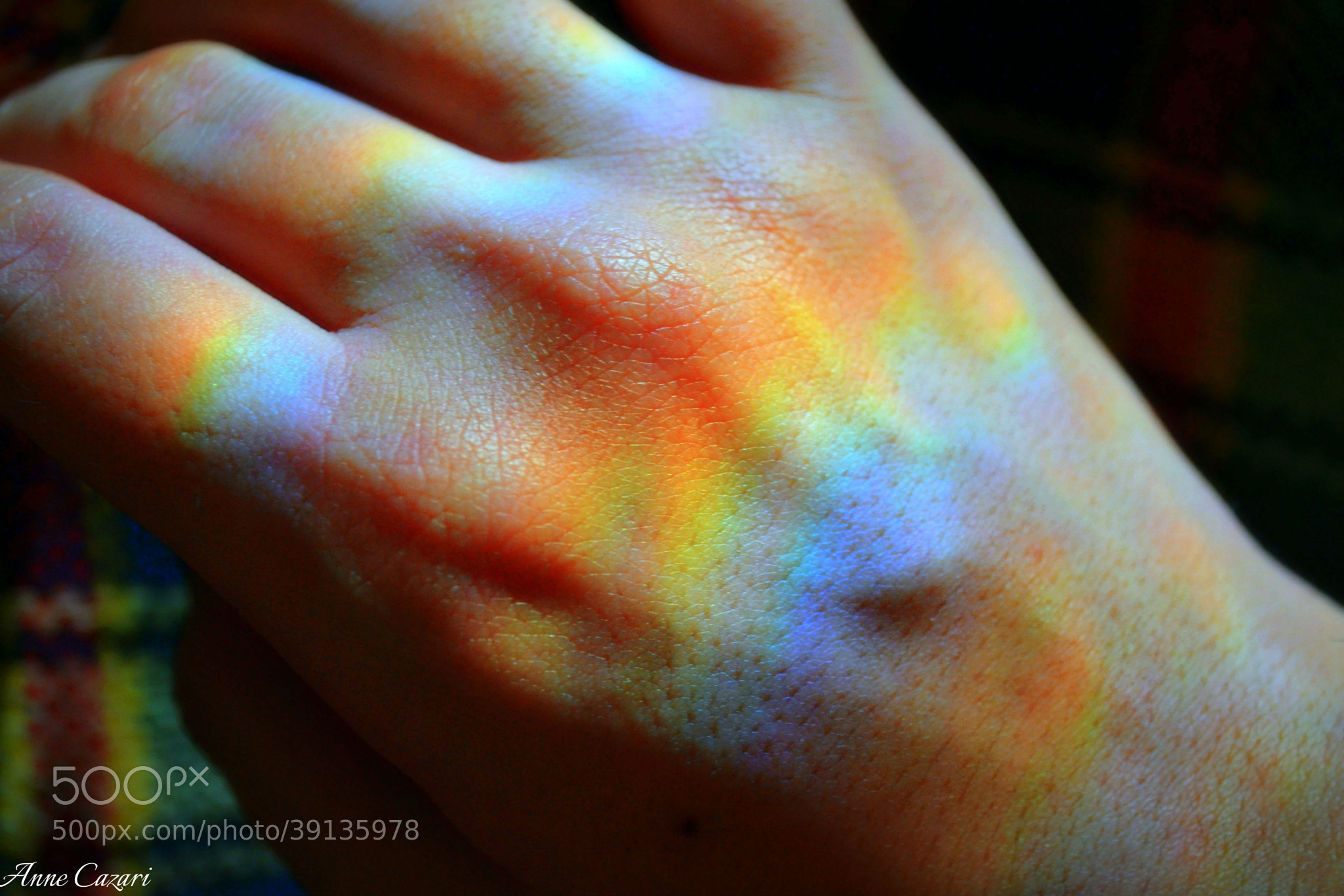 Photograph rainbow in my hands by Anne Cazari on 500px