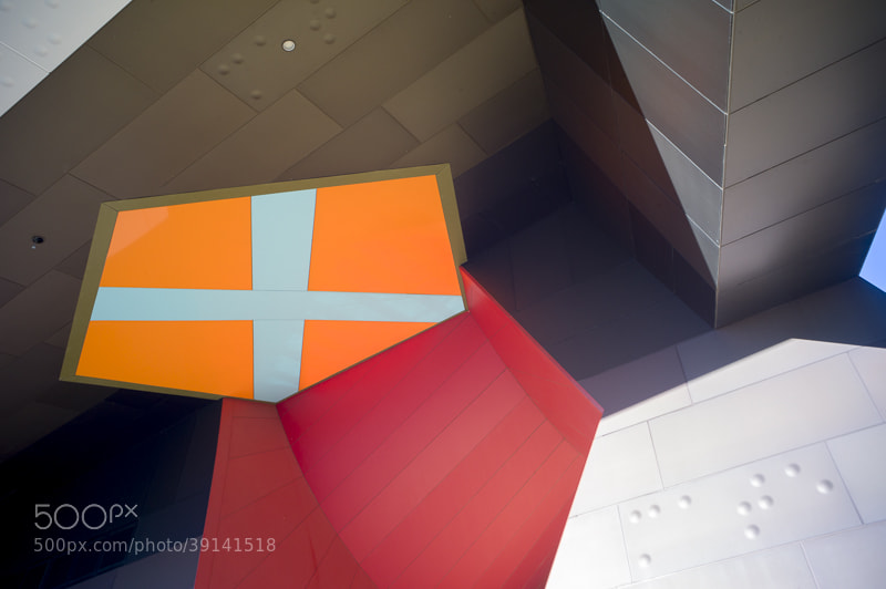 Photograph orange & red on grey by alistair noble on 500px