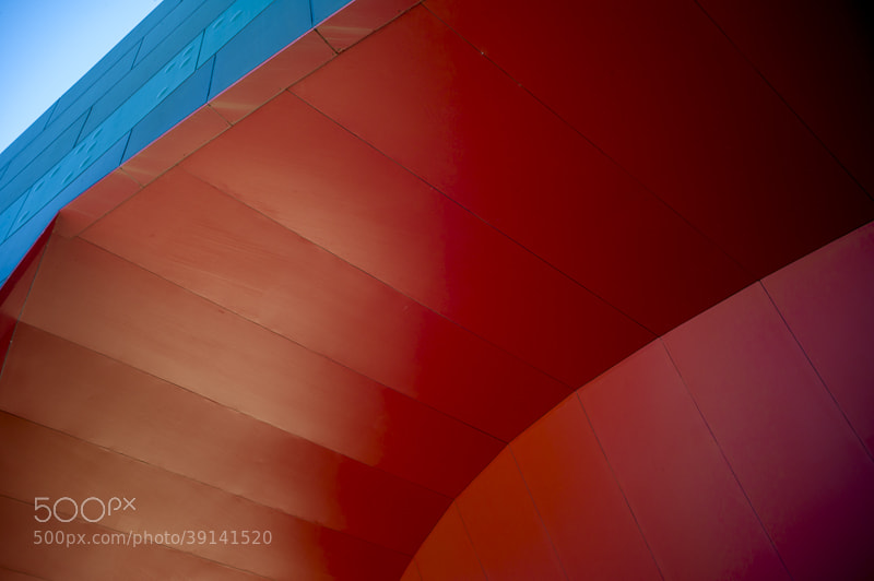 Photograph blue over red by alistair noble on 500px
