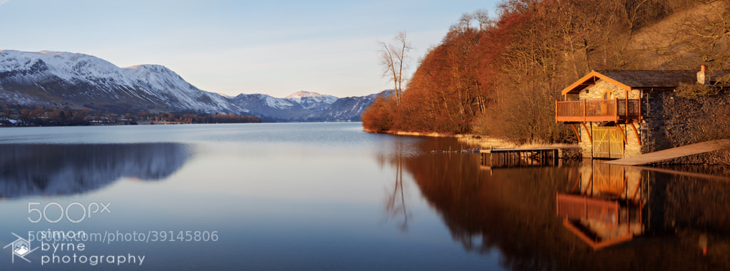 Photograph Ullswater Boat House, Lake District by Simon Byrne on 500px
