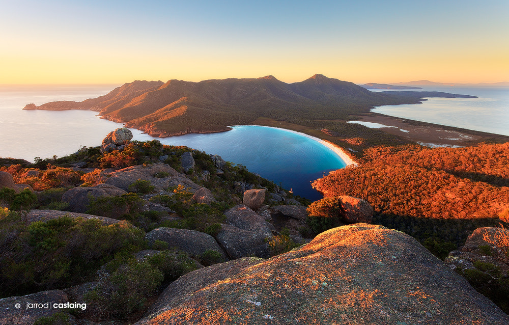 Photograph Wineglass Bay by Jarrod Castaing on 500px