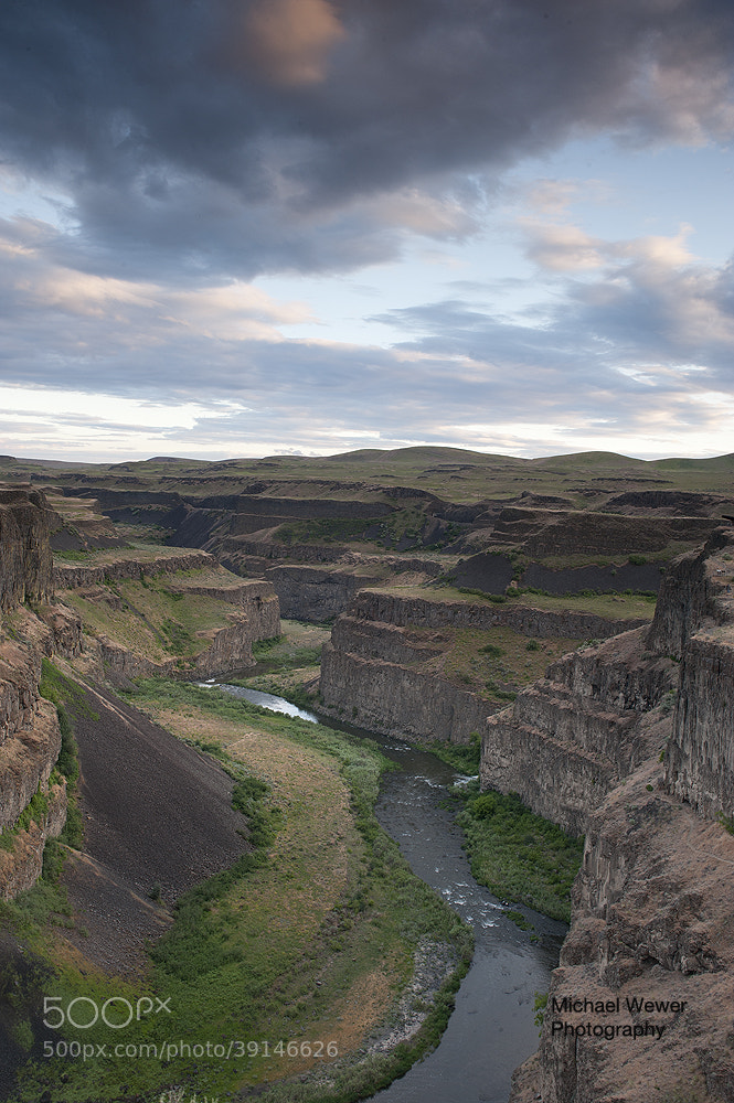 Photograph The Palouse River at Dusk by Michael Wewer on 500px