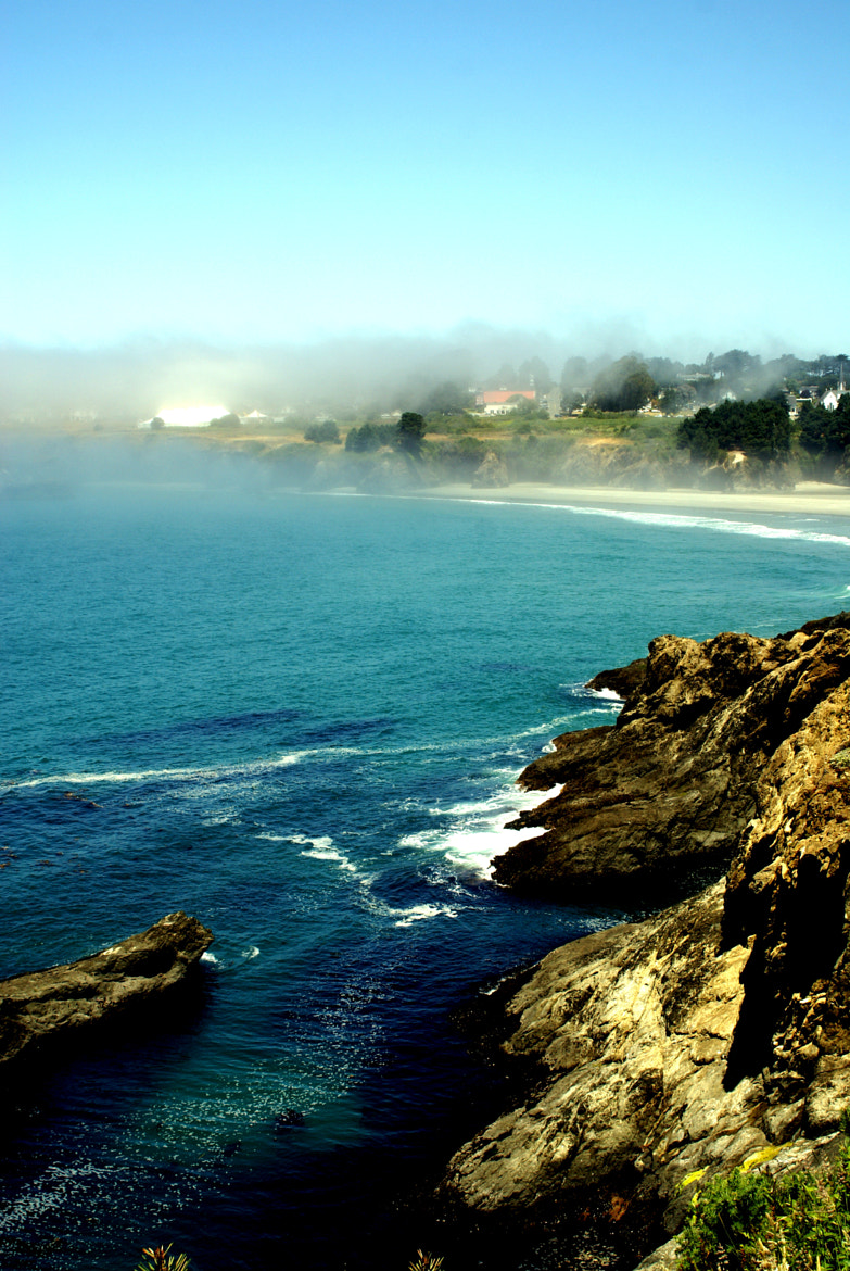 Photograph Mendocino.... in the fog. by Lena M. on 500px