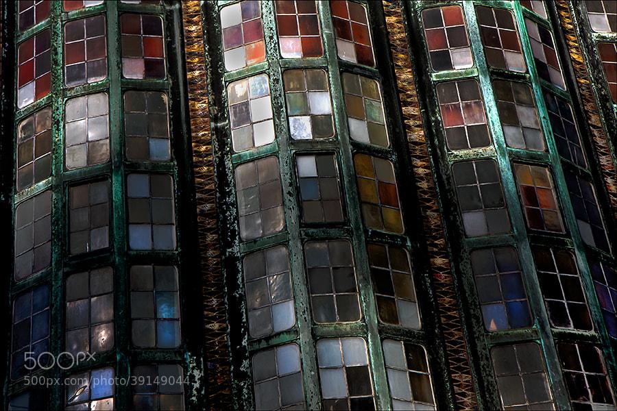 Photograph mozaïek wall by Gilbert Claes on 500px