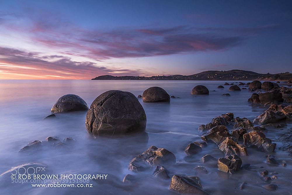 Photograph Moeraki Boulders by Rob Brown on 500px
