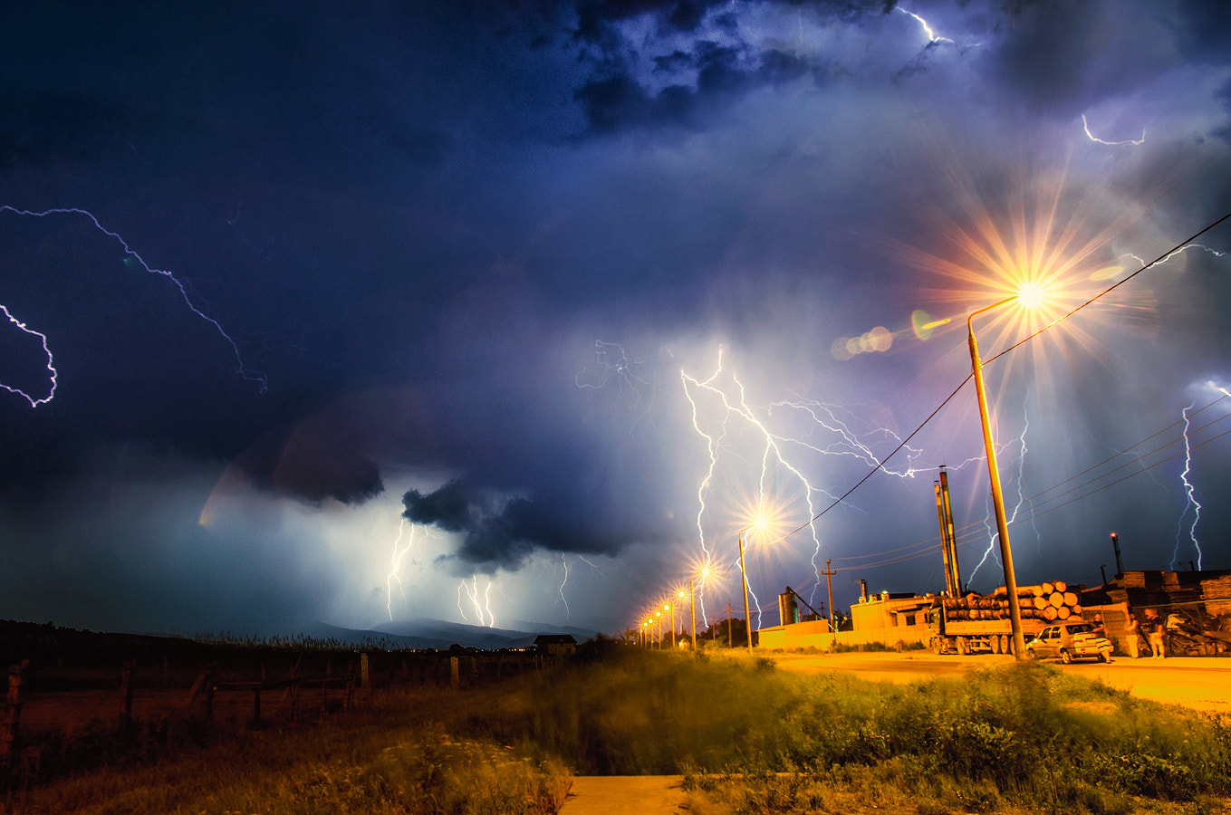 Photograph Thunderstorm by Mogan Andrei on 500px