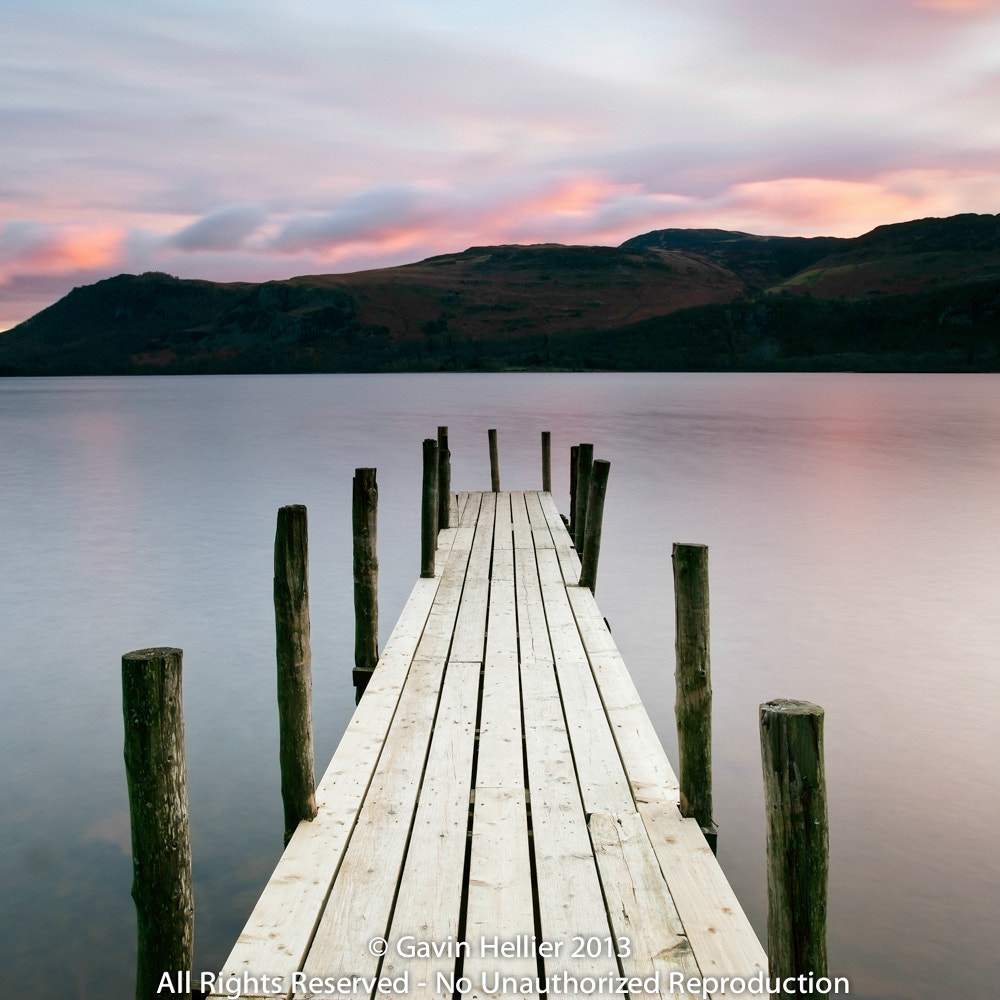Photograph Brandelhow Bay jetty at dawn, Derwentwater, Keswick, Lake District National Park by Gavin Hellier on 500px