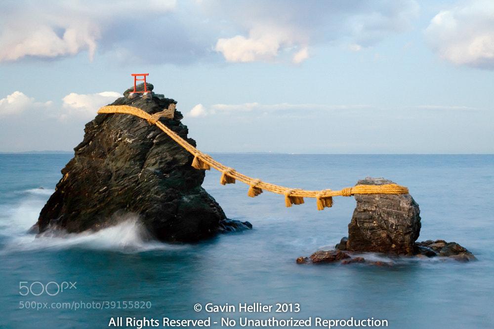 Photograph Japan, Central Honshu (Chubu), Ise-Shima, Futami, Meoto-Iwa (Wedded Rocks) by Gavin Hellier on 500px
