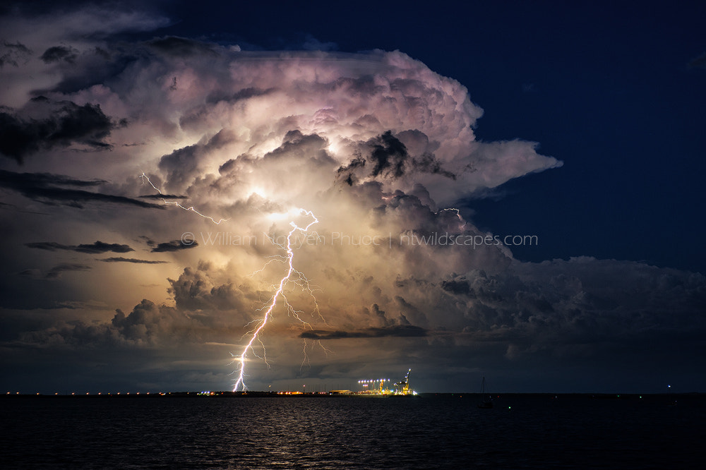Photograph Evening Thunderstorm by William Nguyen-Phuoc on 500px