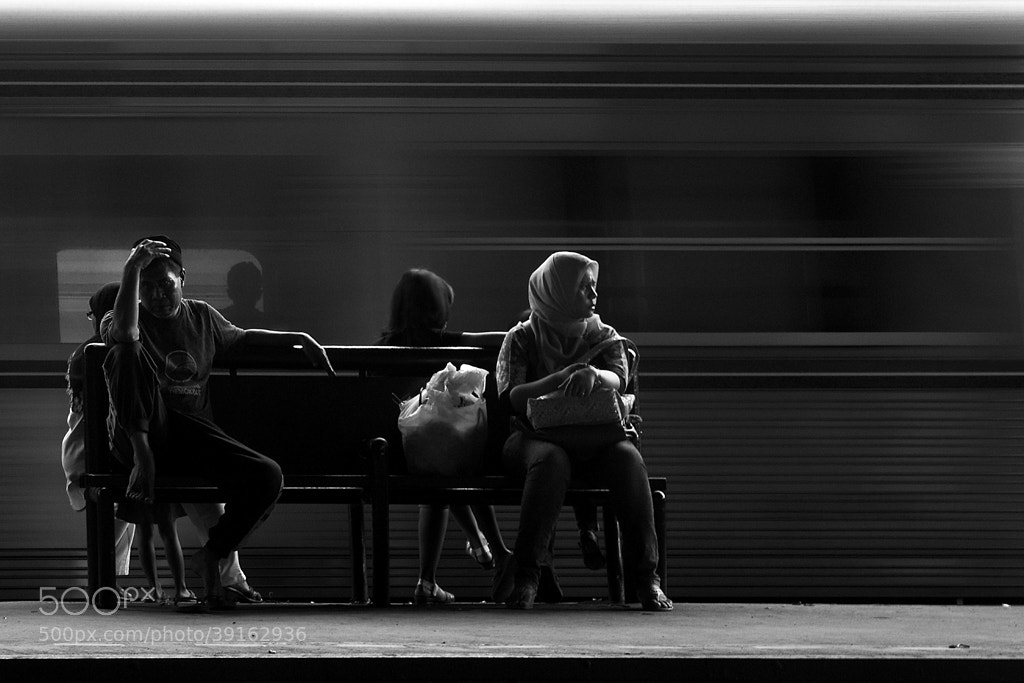 Photograph  8 PEOPLES WAITING by januar surjadi on 500px