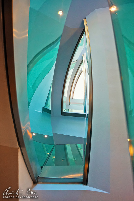 Photograph Hangar Seven Staircase 03 by Christian Öser on 500px