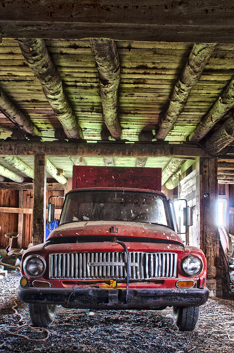 Photograph International Pickup in Old Barn by Howard Owens on 500px