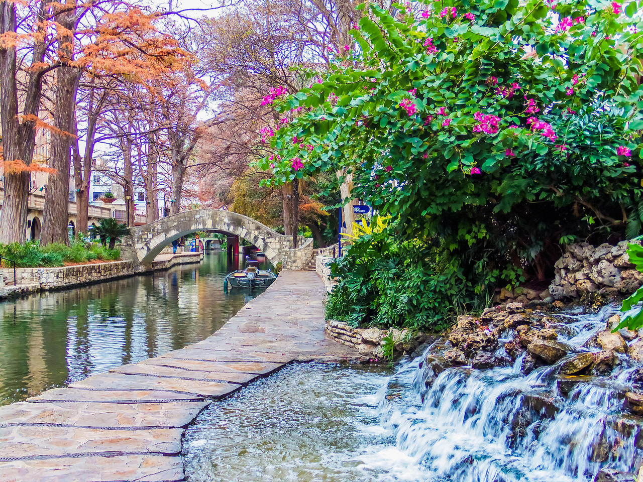 Photograph San Antonio Riverwalk in the Morning by Amy Moore on 500px