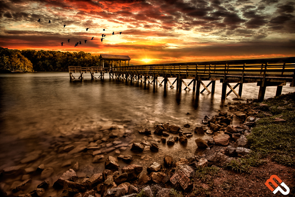 Photograph Pier at Smith Mountain Lake by Joshua Minso on 500px