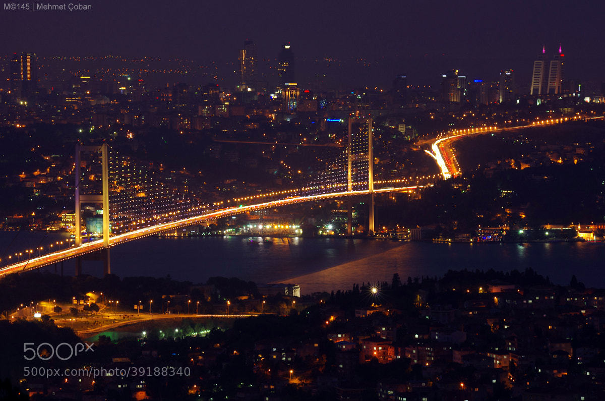 Photograph See Istanbul at night by Mehmet Çoban on 500px