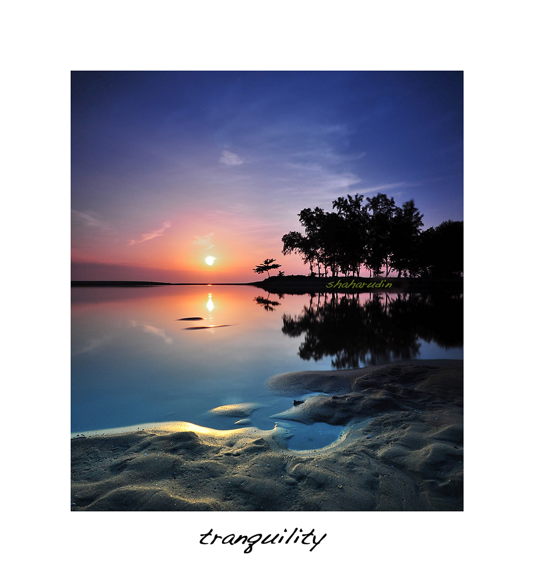 Photograph Tranquility by Shaharudin Abdullah on 500px
