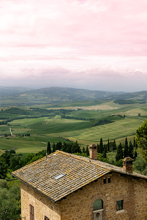 Photograph Pienza Valley by nick mangiardi on 500px