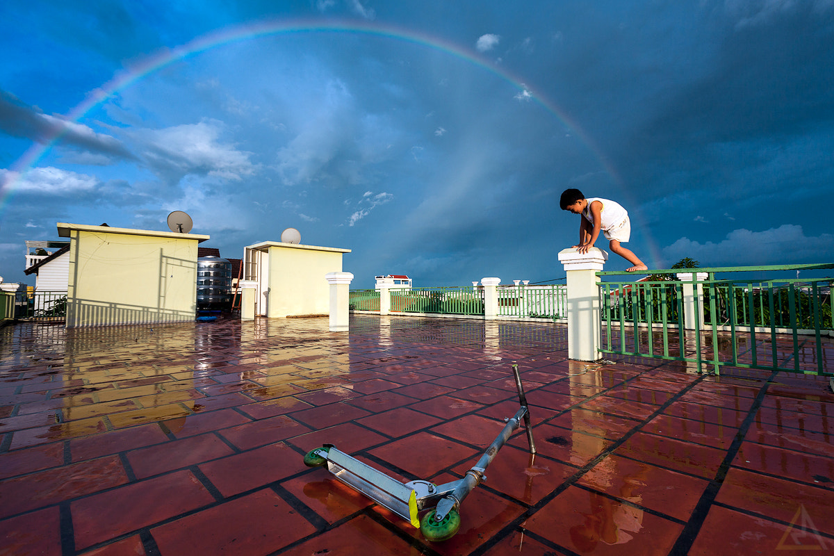 Photograph Chasing rainbow by La Mo on 500px