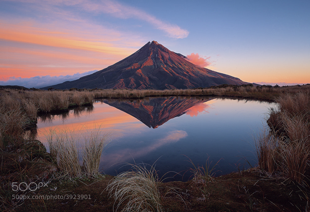Photograph Taranaki by Verena and Georg Popp-Hackner on 500px