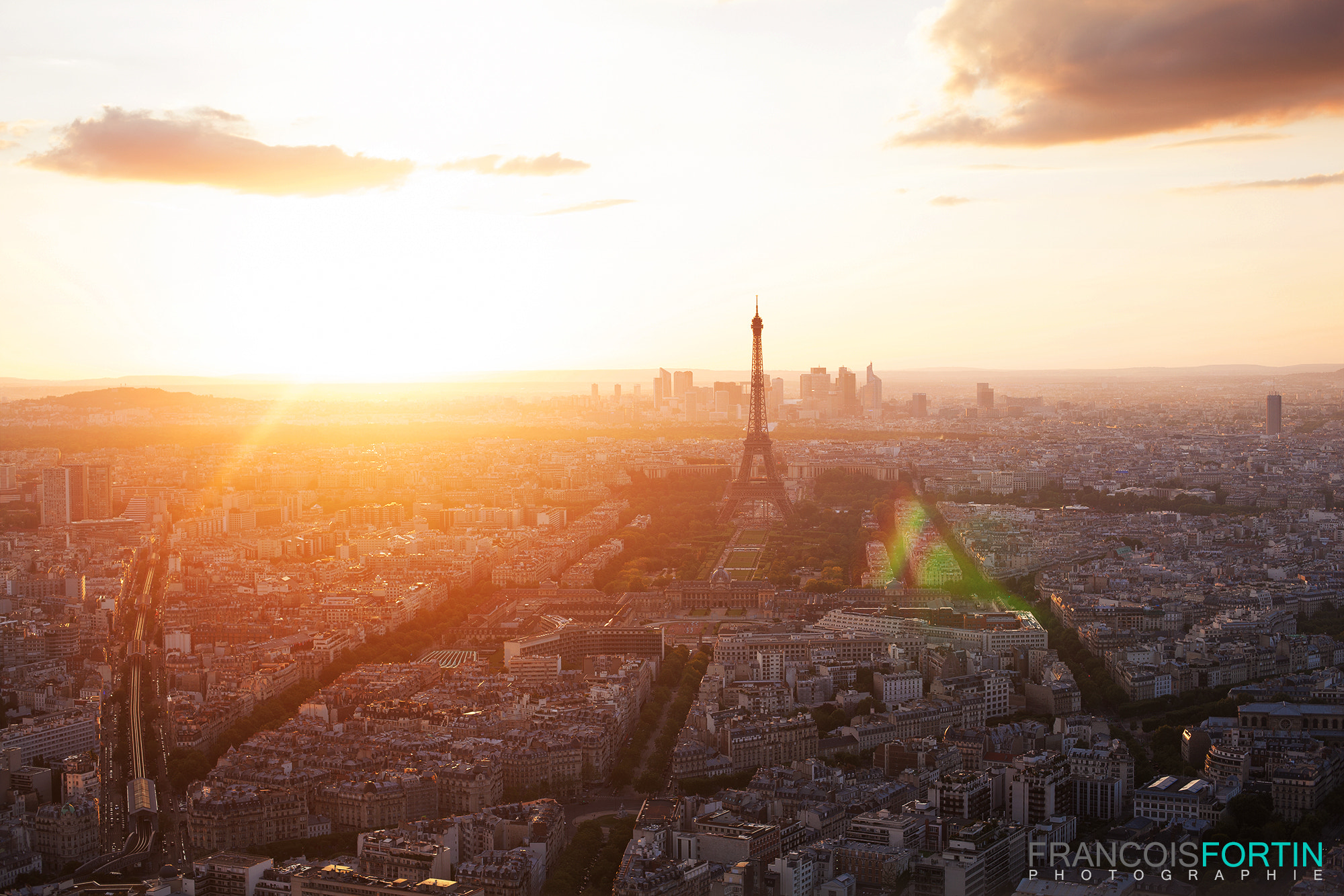 Photograph Paris at sunset by Francois Fortin on 500px
