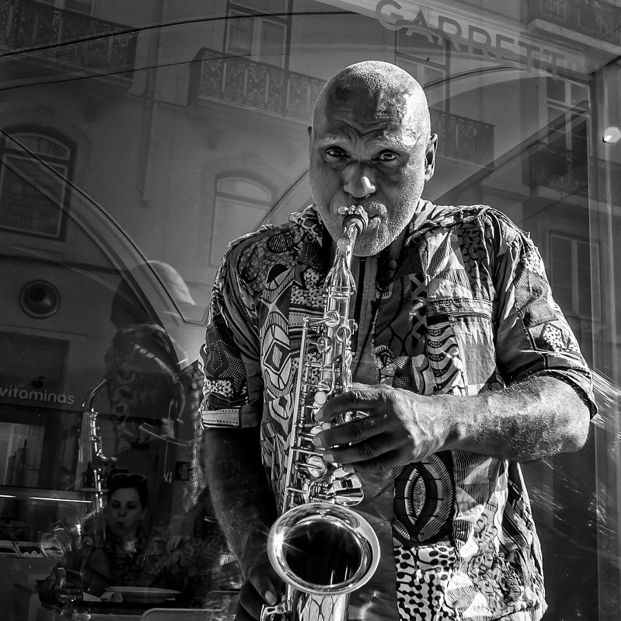 Photograph sax player by Daniel Antunes on 500px