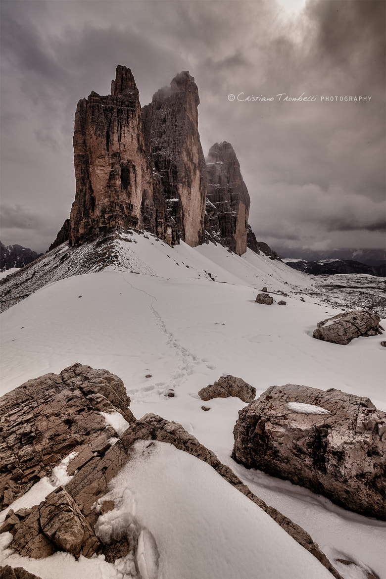 Photograph Three Peaks by Cristiano Trombelli on 500px